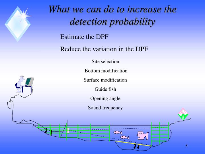 What we can do to increase the detection probability
