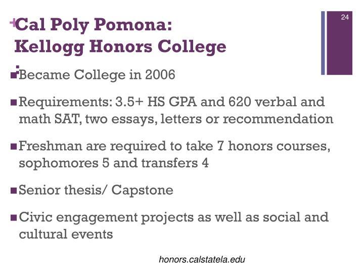 Cal Poly Pomona: