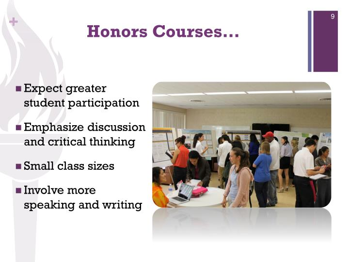 Honors Courses…