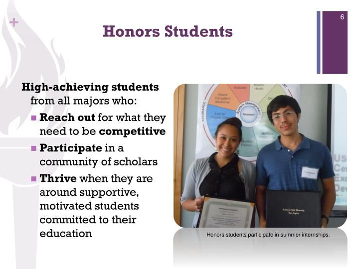 Honors Students