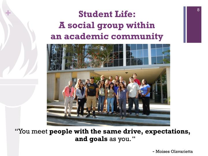 Student Life:
