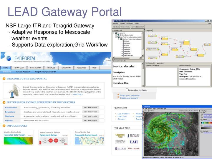 LEAD Gateway Portal