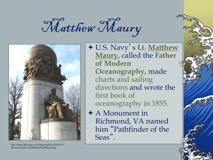 Matthew Maury