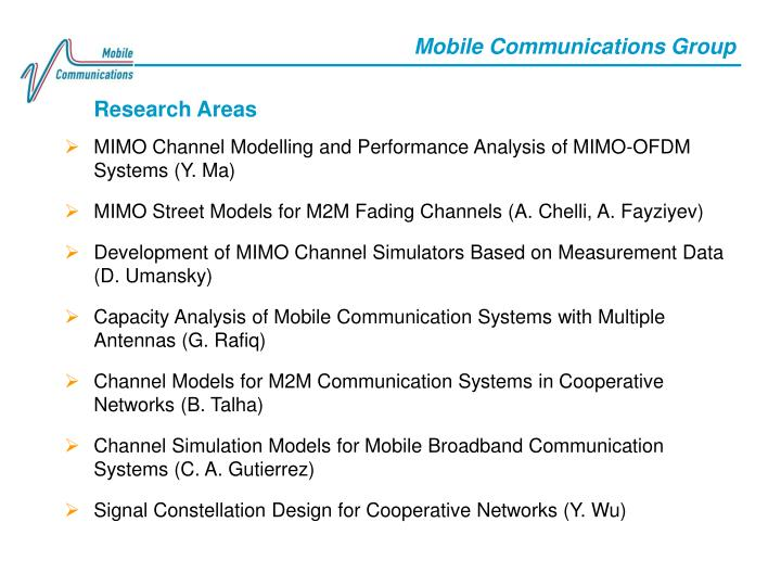 Mobile Communications Group