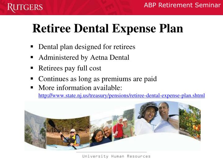 Retiree Dental Expense Plan