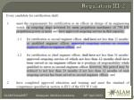 regulation iii 2