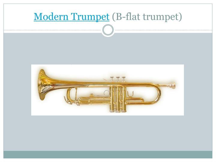 Modern Trumpet