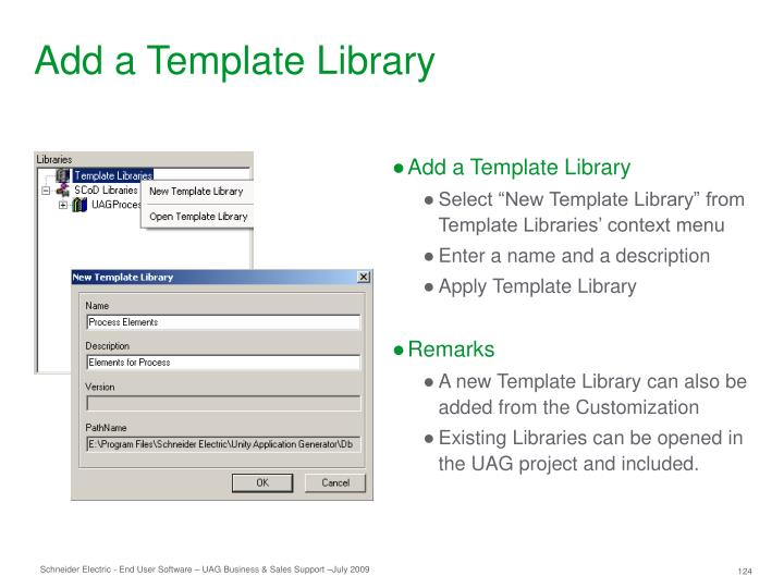 Add a Template Library