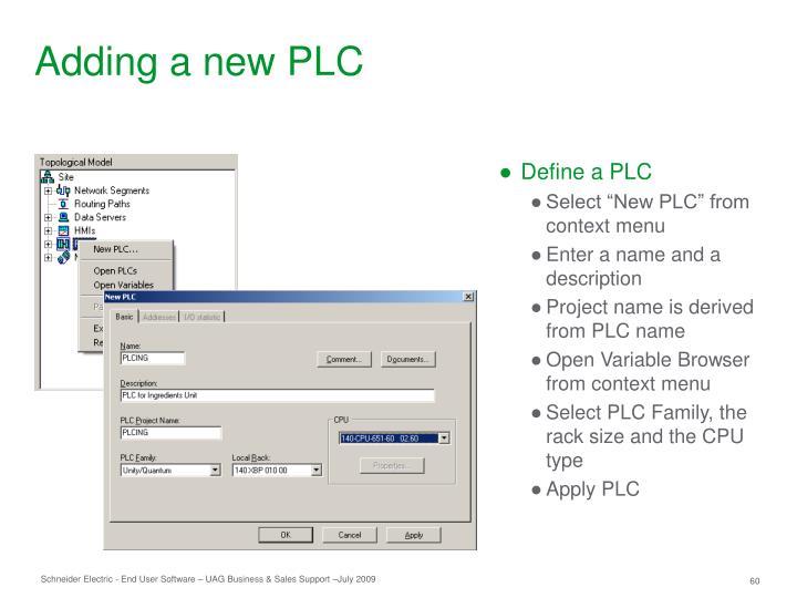 Define a PLC