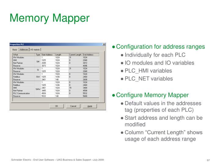 Memory Mapper