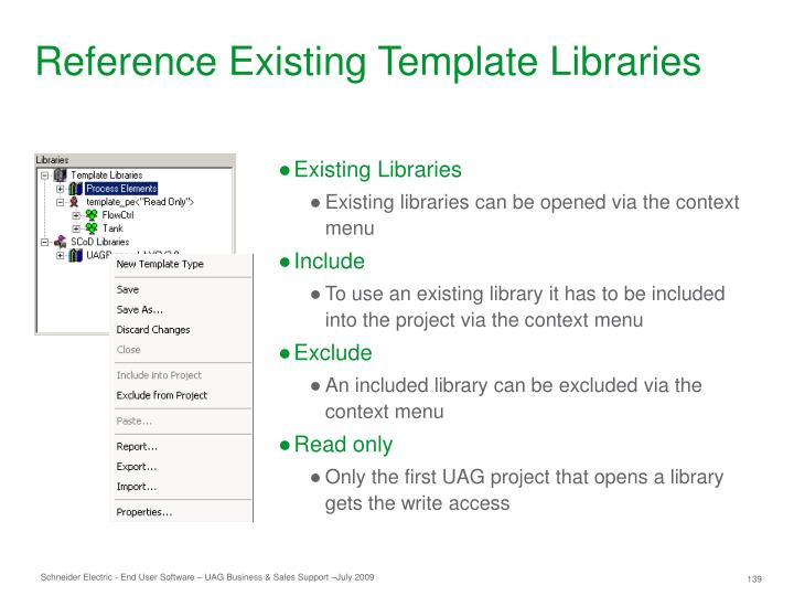 Reference Existing Template Libraries