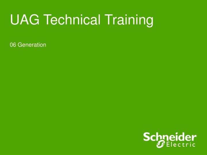 UAG Technical Training