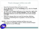 track changes while you edit1