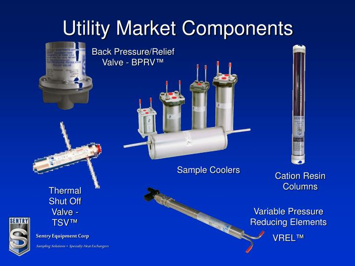Utility Market Components