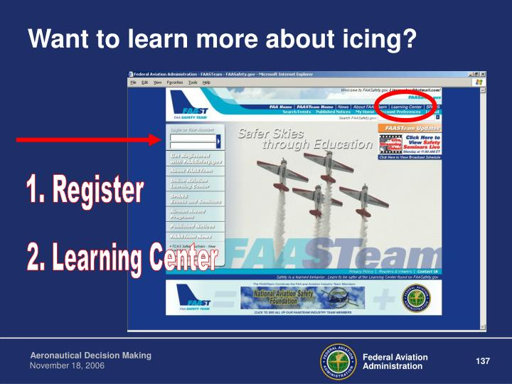 Want to learn more about icing?