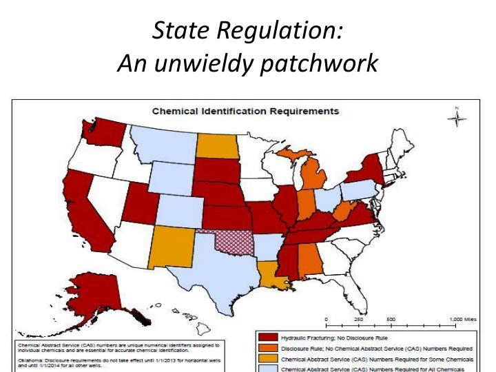 State Regulation: