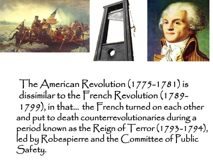 the French turned on each other and put to death counterrevolutionaries during a period known as the Reign of Terror (1793-1794), led by Robespierre and the Committee of Public Safety.