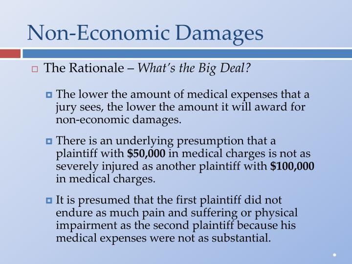 Non-Economic Damages