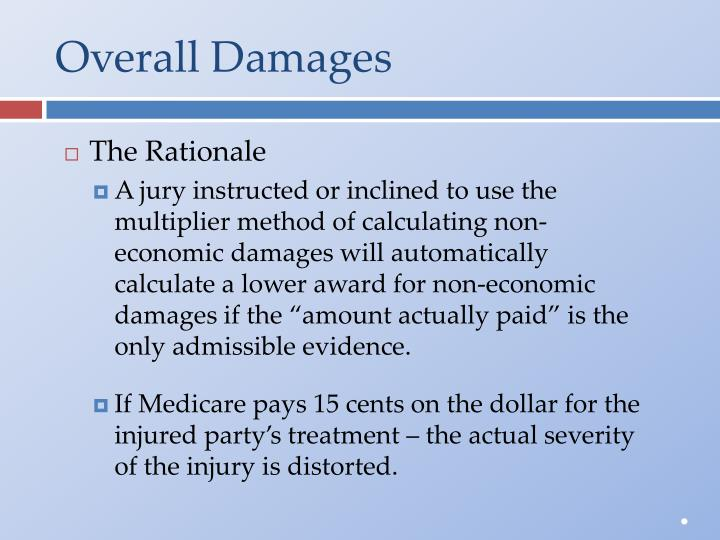 Overall Damages