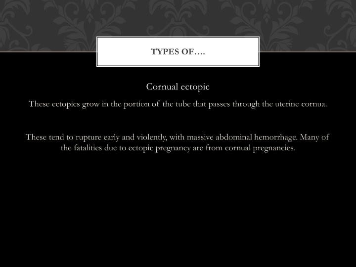 Types of….