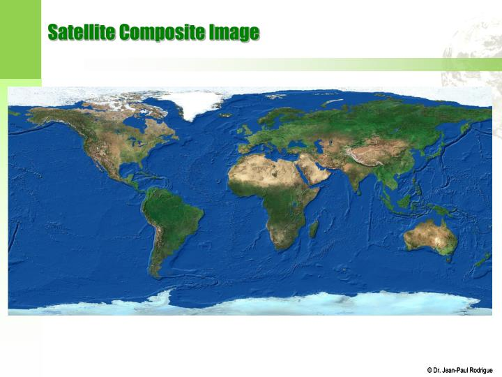 Satellite Composite Image