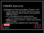 umdps services1