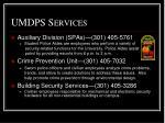 umdps services2