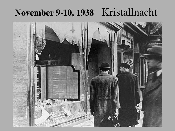 November 9-10, 1938