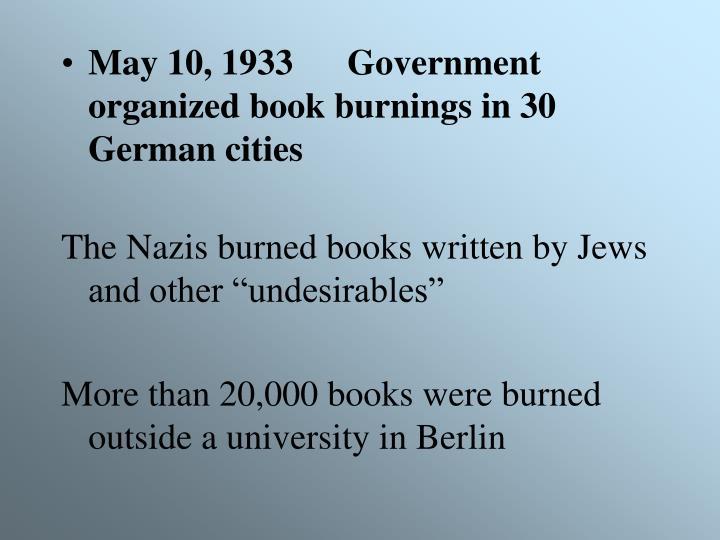 May 10, 1933