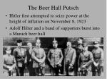 the beer hall putsch