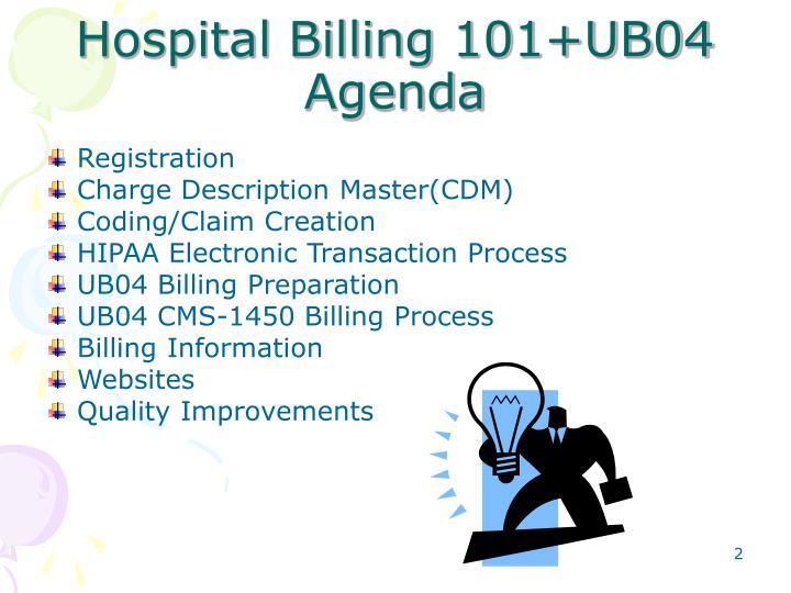 Hospital Billing 101+UB04