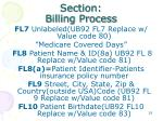 section billing process1