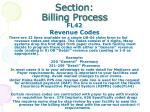 section billing process12