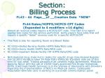 section billing process13