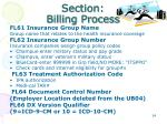 section billing process25