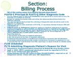 section billing process26