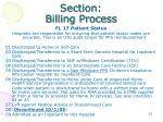 section billing process4