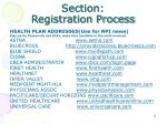section registration process2