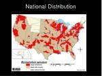 national distribution
