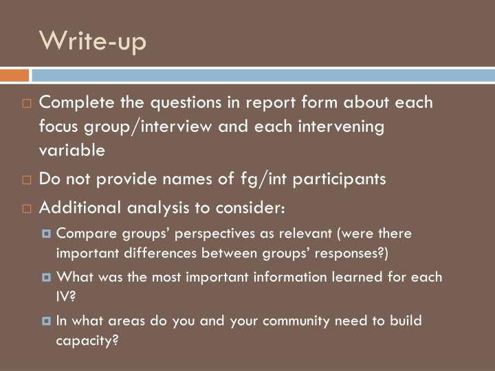 Write-up