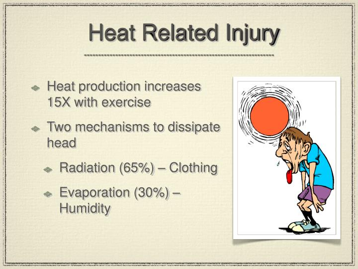 Heat Related Injury