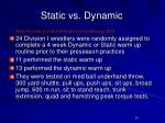static vs dynamic1