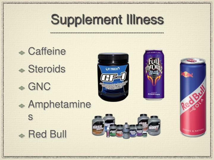 Supplement Illness