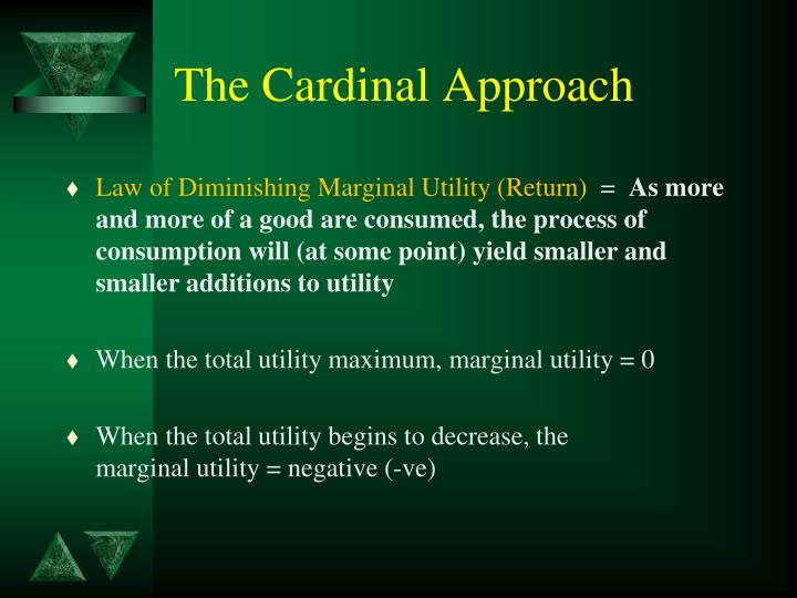 The Cardinal Approach