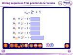 writing sequences from position to term rules3