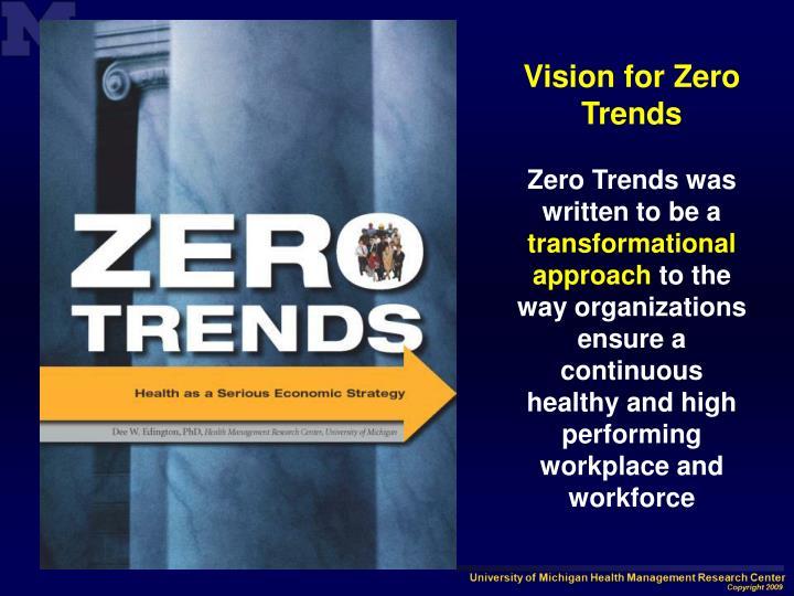 Vision for Zero Trends