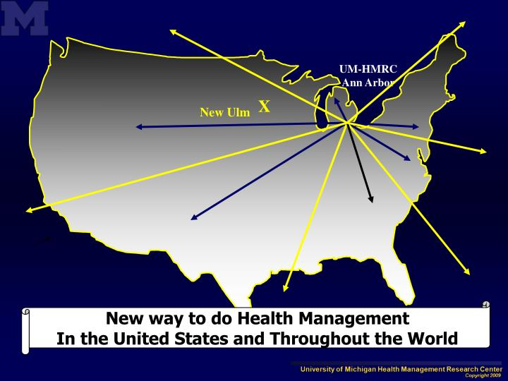 New way to do Health Management