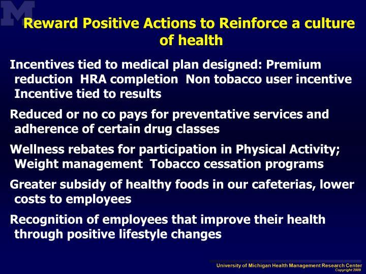 Reward Positive