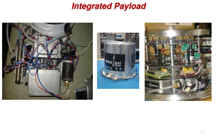 Integrated Payload