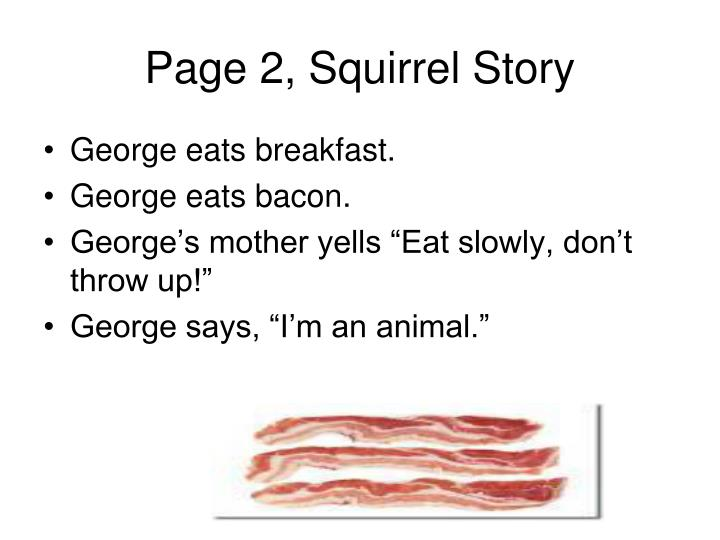Page 2, Squirrel Story